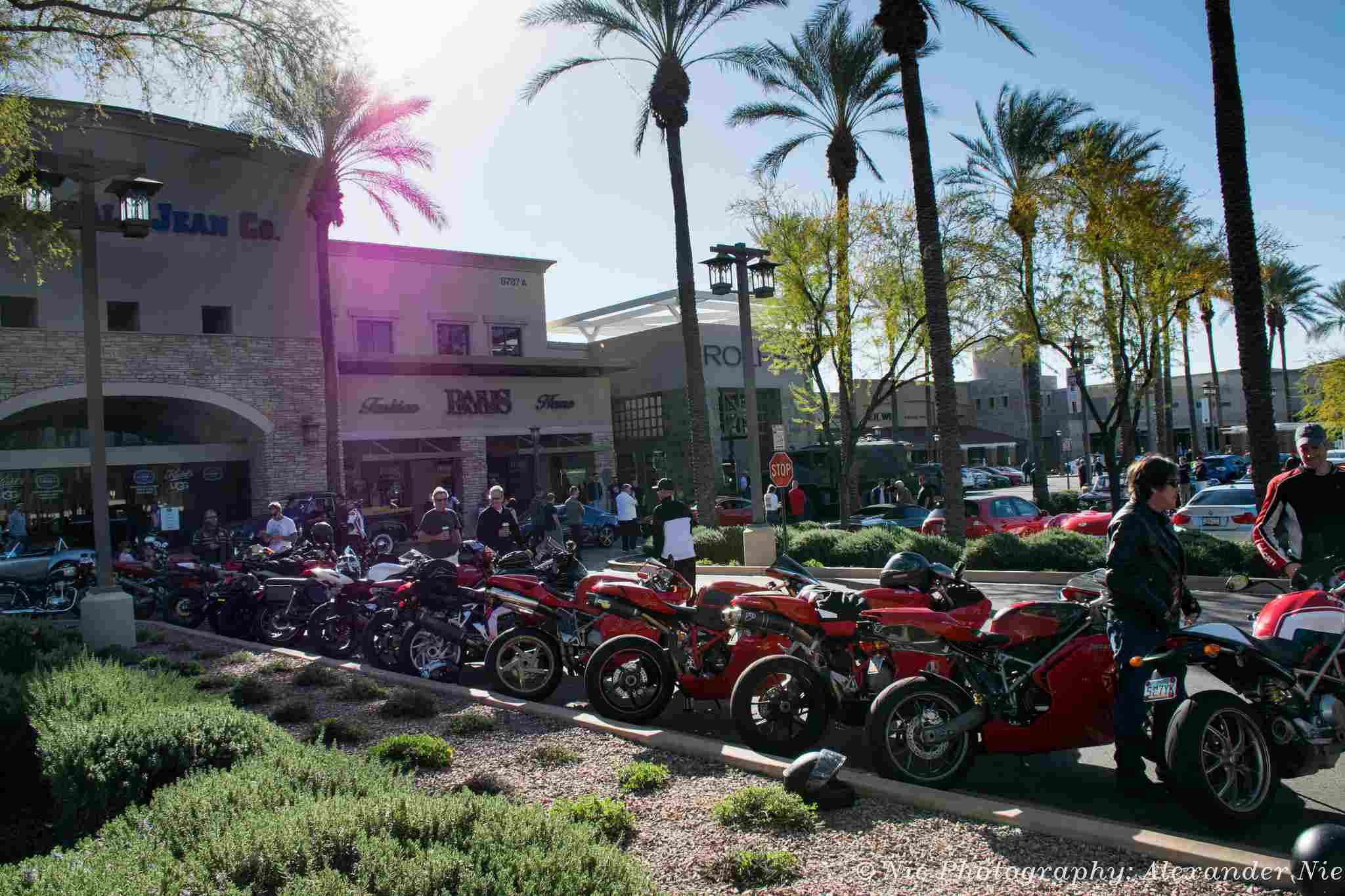 motocicleta show AZ
