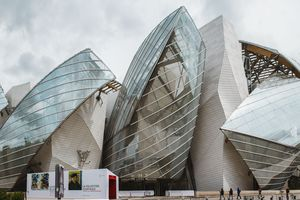 Exterior of Foundation of Louis Vuitton