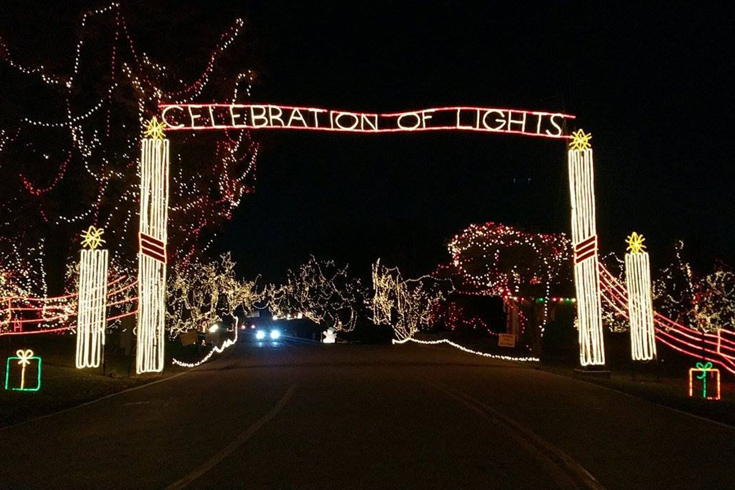 Celebration of Lights in O\'Fallon, Missouri