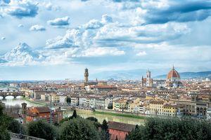 City of Florence, Tuscany, Italy