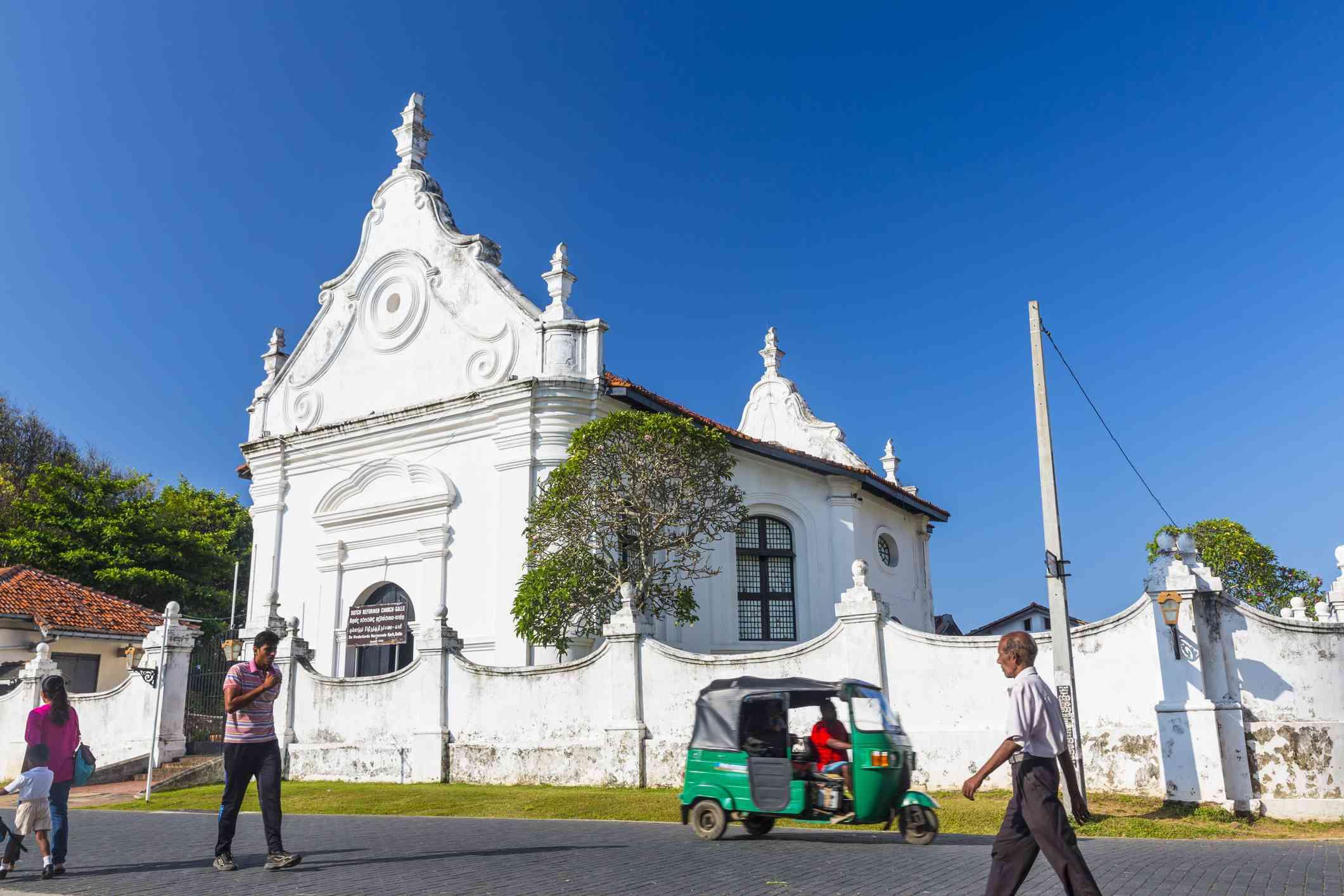 The 1752 Dutch Reformed Church in Galle, Sri Lanka