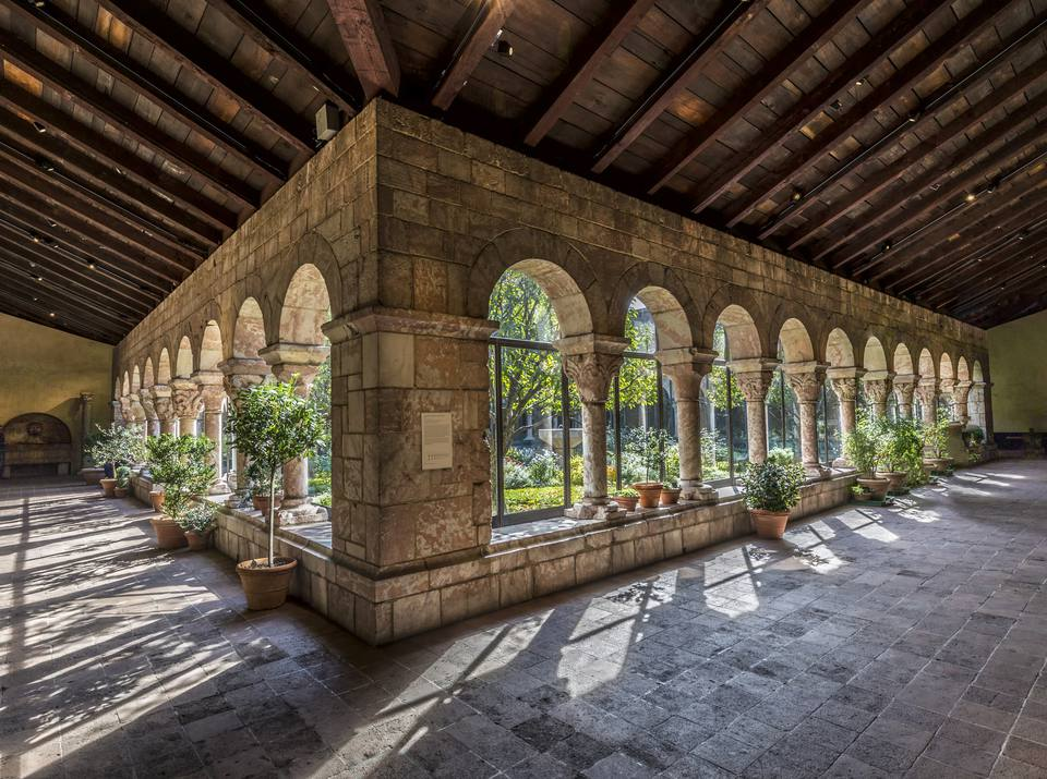 Sanctuary at the Cloisters museum in New York