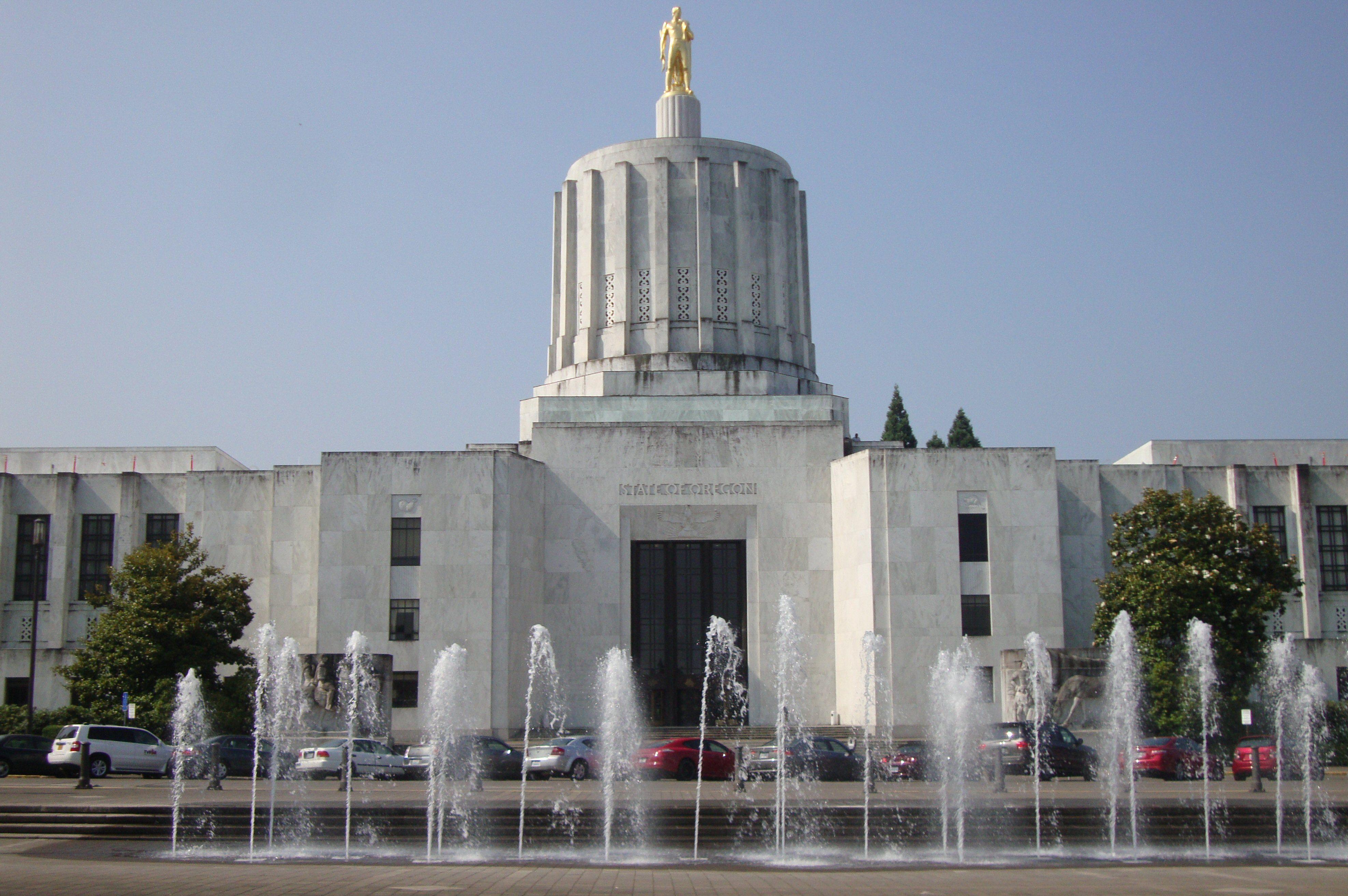 El Capitolio del Estado de Oregón, estilo Art Deco