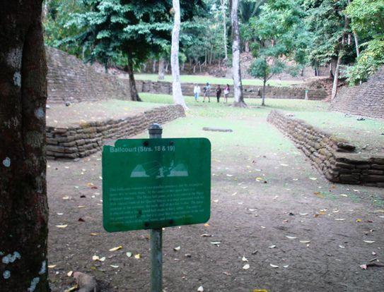 Ballcourt at Nim Li Punit