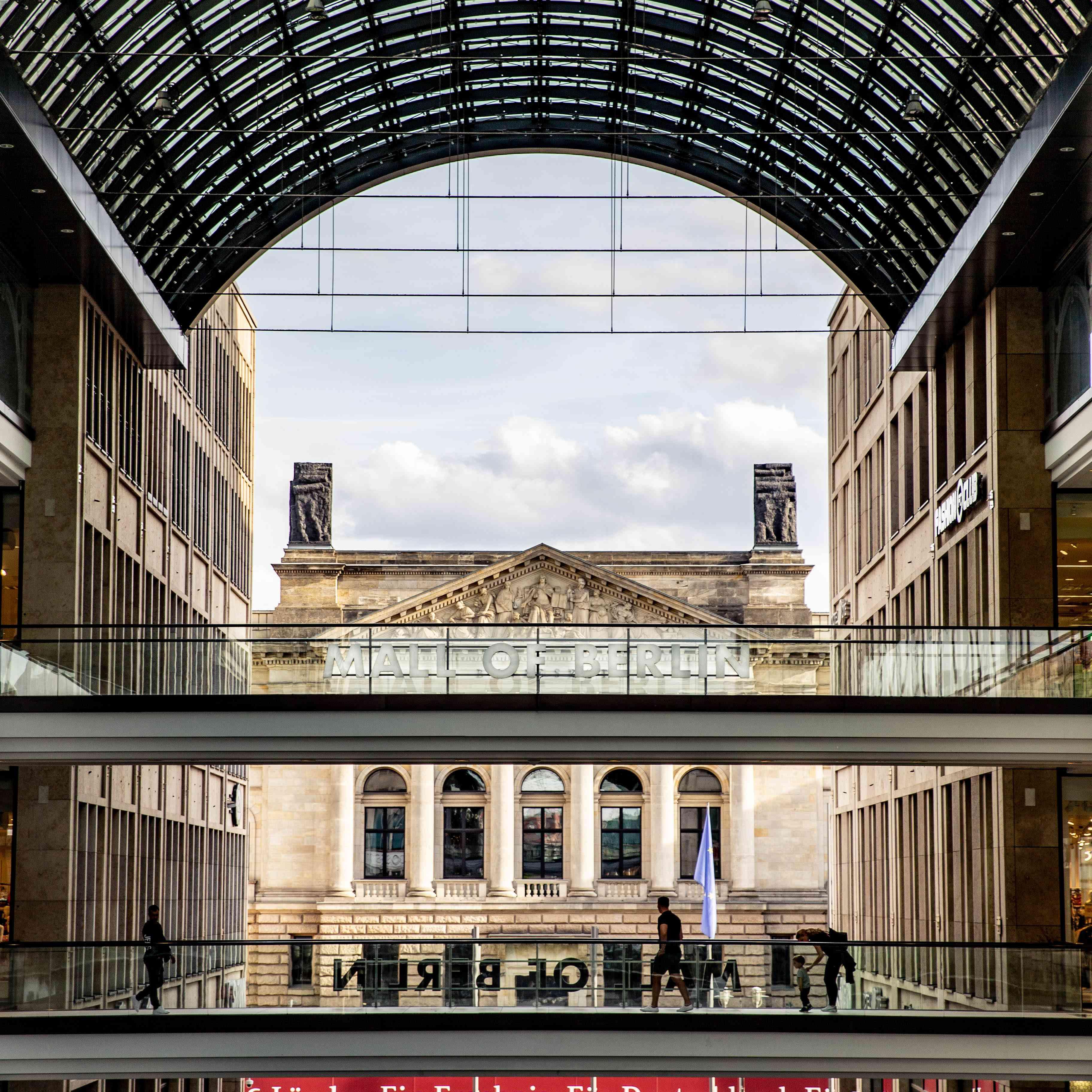 A shopping mall in Potsdamer Platz