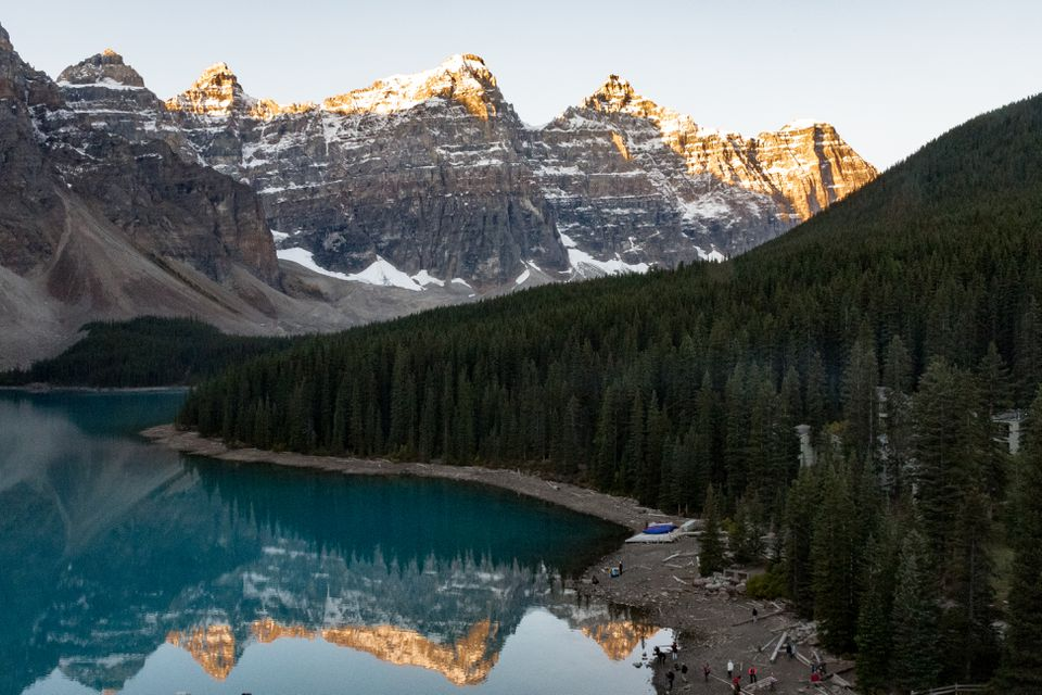 Valley of Ten Peaks in Banff