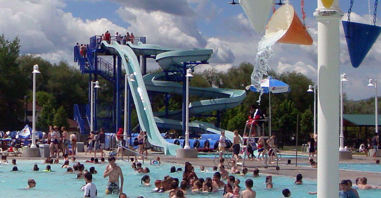 Logan Aquatic Center in Utah
