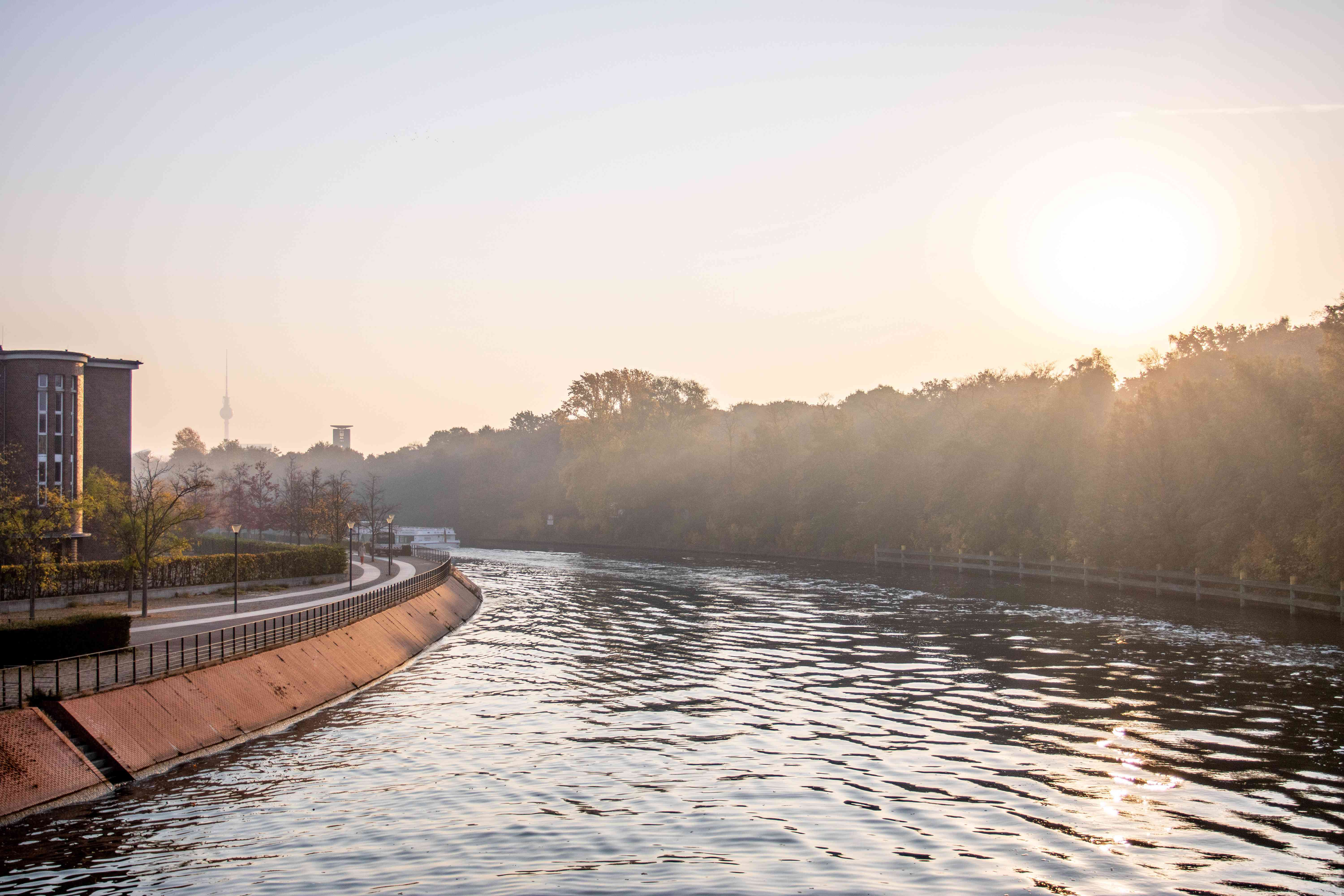 View of the River Spree