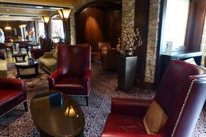 The Cellar Master Lounge on the Celebrity Reflection cruise ship