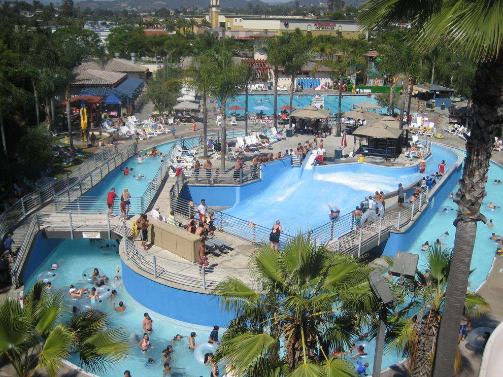 The Wave water park in California