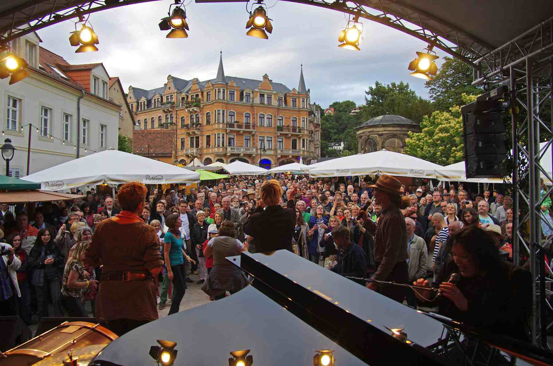 Dresden Elbhangfest Loschwitz_Buehne