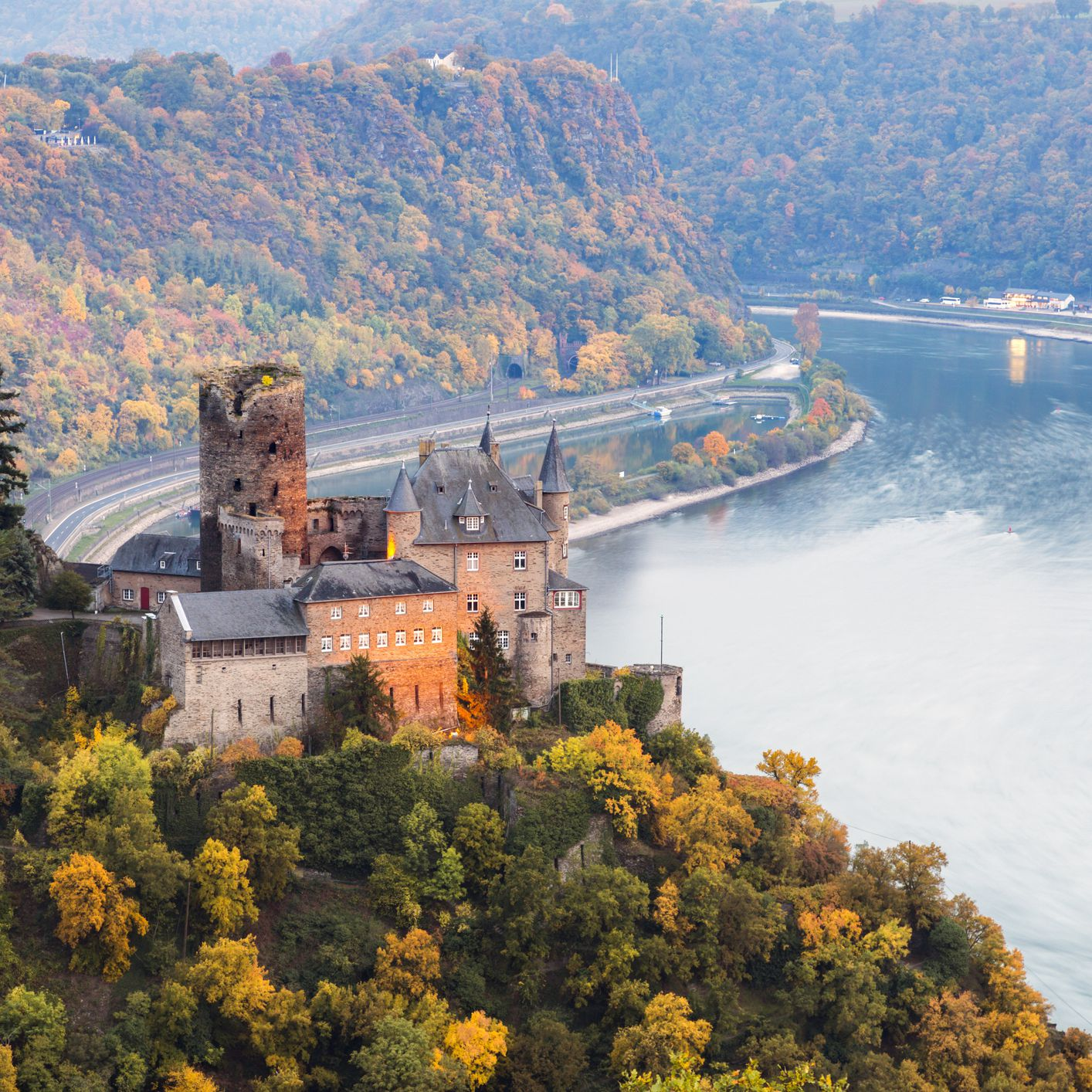 Driving Germany's Rhine: Upper Middle Valley