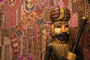 Handicrafts in Jaipur.