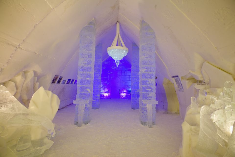 Canada, Quebec, Quebec City, Winter Carnival, Ice Hotel