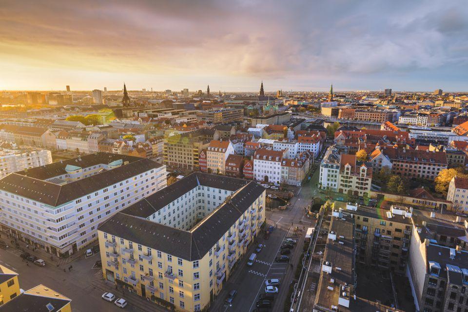 Copenhagen, Hovedstaden, Denmark, Northern Europe.