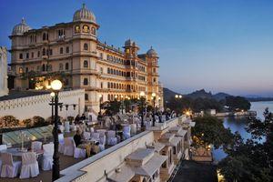 Fateh Prakash Palace Hotel.