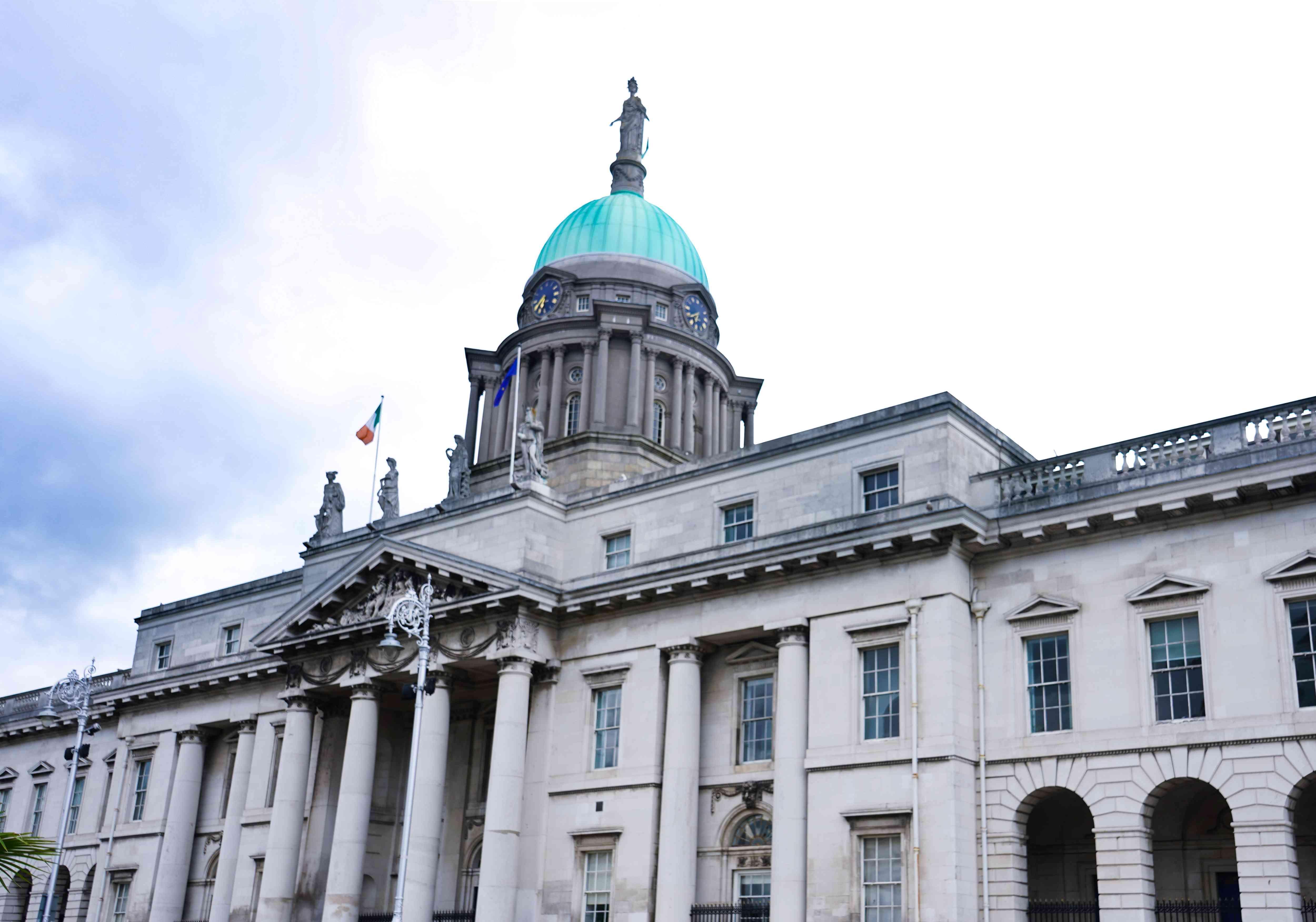 The Custom House in Dublin, Ireland