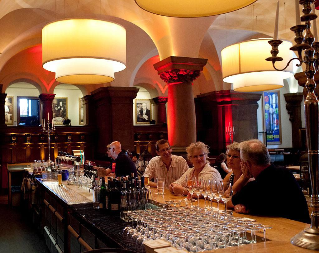 Parliament Bar & Restaurant in Hamburg's Rathaus