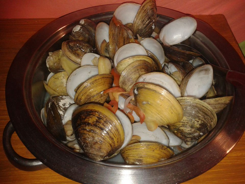 Philippines Food Clams