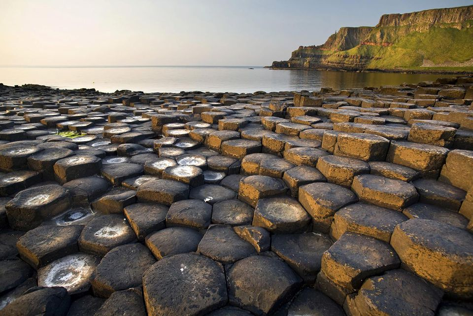 Giants Causeway basalt rocks, County Antrim, Northern Ireland, United Kingdom, Europe
