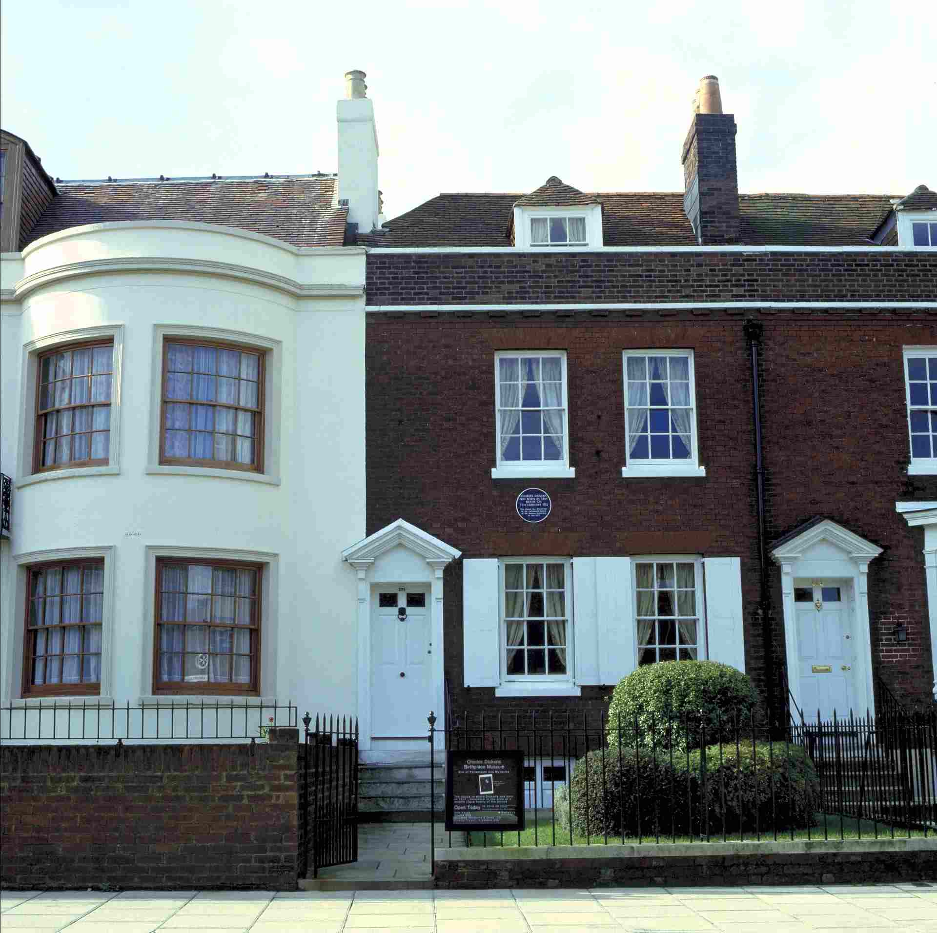 Charles Dickens birthplace, Portsmouth, Hampshire, England.