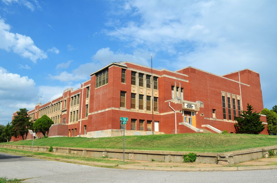 Old Douglas High School in Oklahoma City