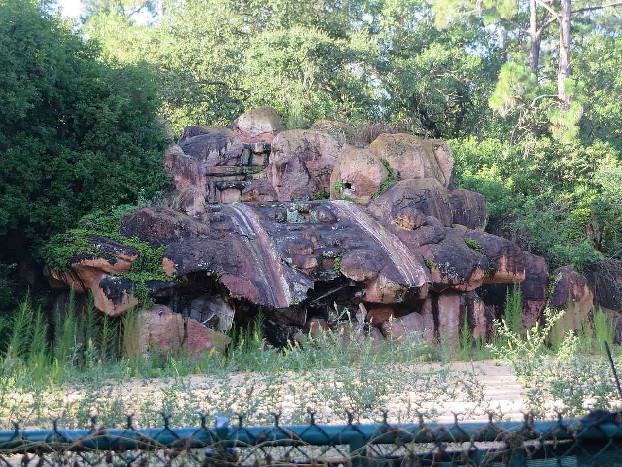 Disney's River Country abandoned water park
