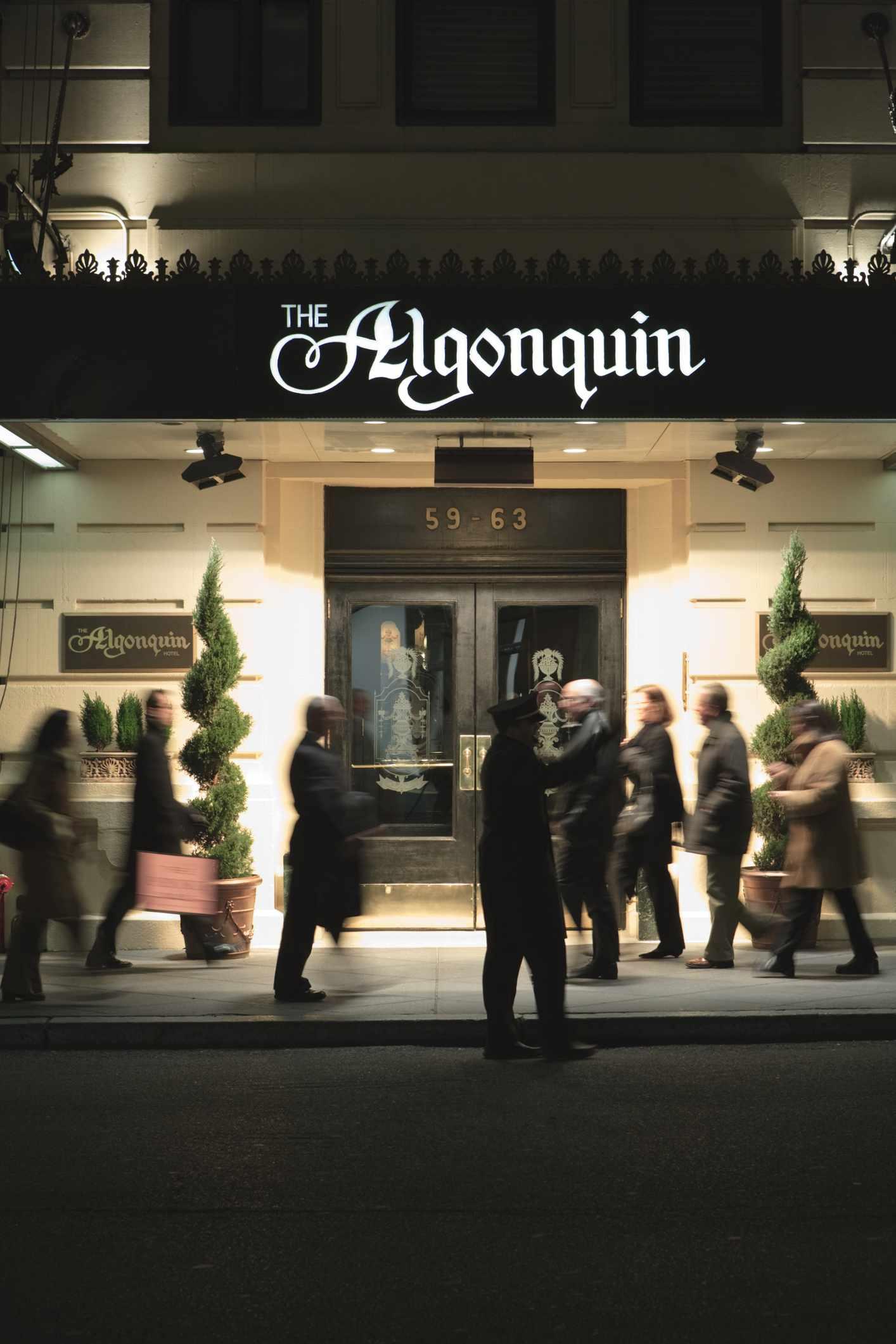 Algonquin Hotel. New York City, New York, United States, North America