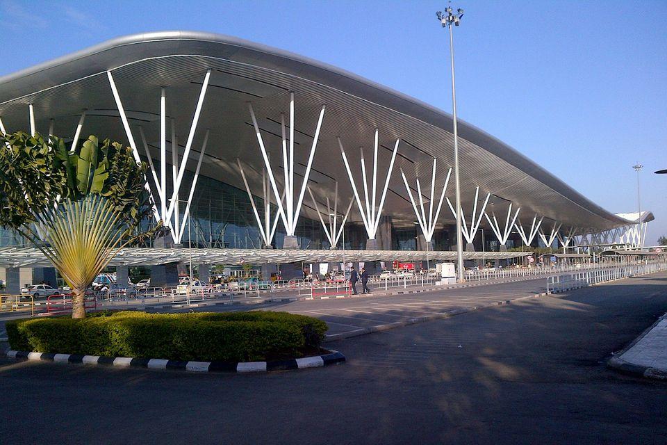 Bangalore airport.
