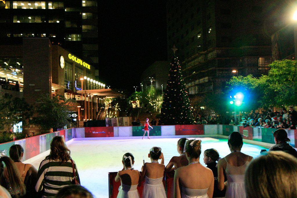 CityScape ice rink in Phoenix