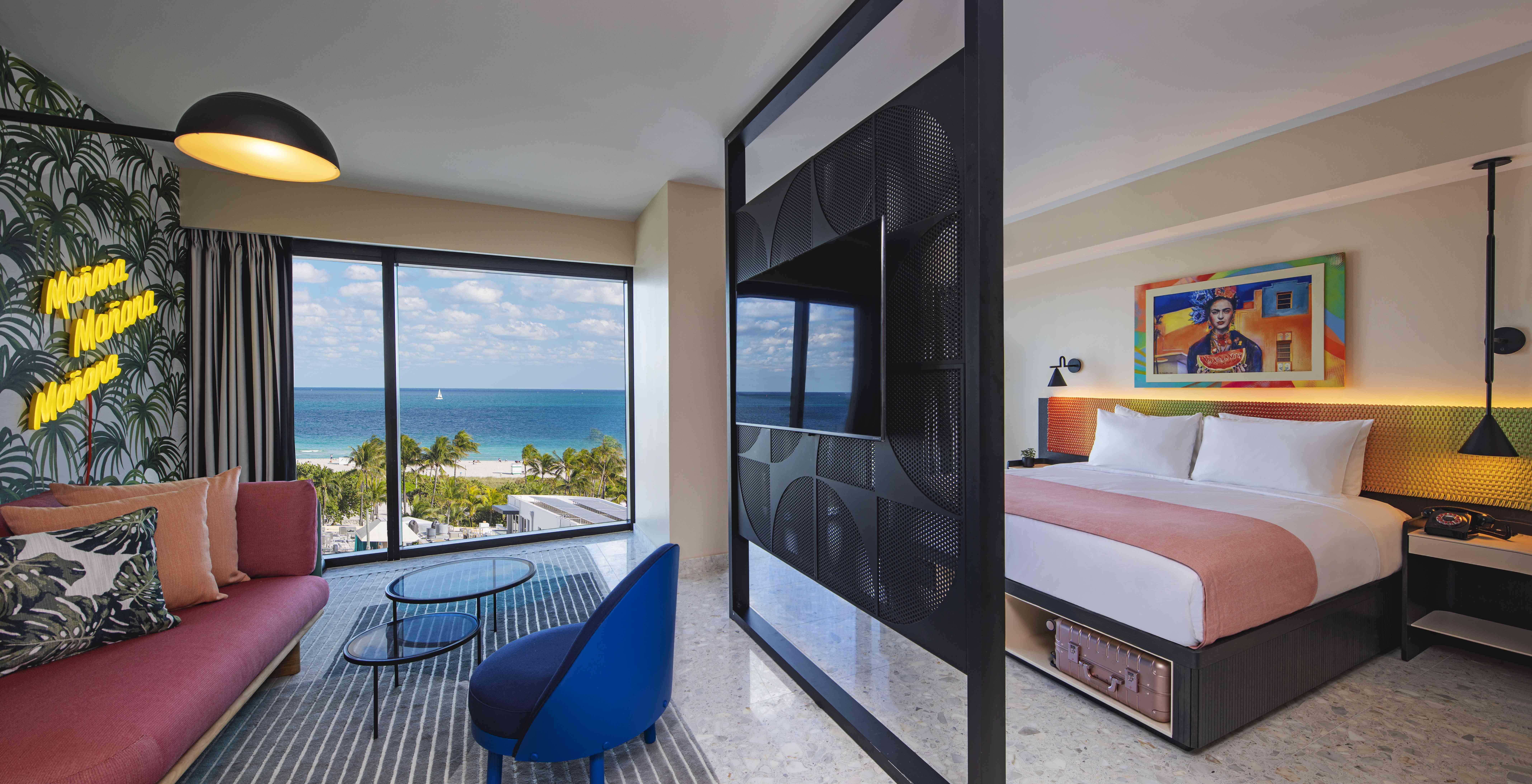 Moxy South Beach room