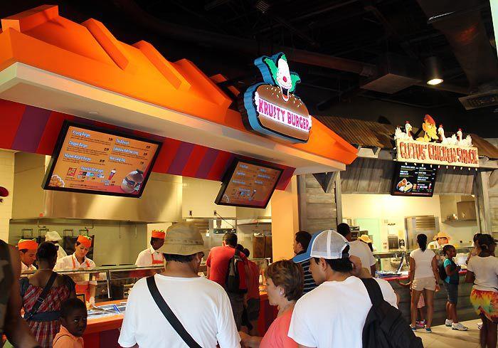 Springfield Fast Food Boulevard at Universal Studios Florida.