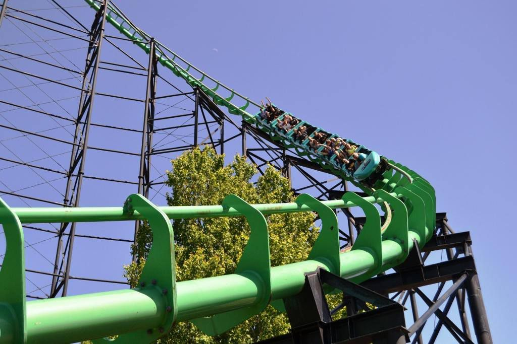 Kennywood Roller Coaster