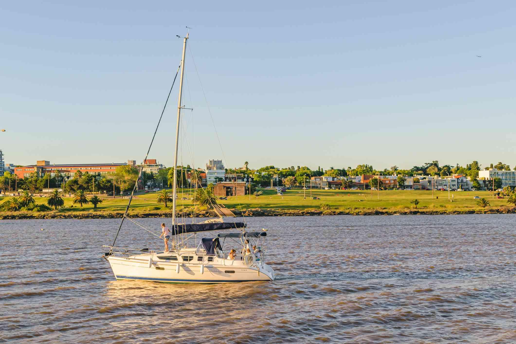 Montevideo Bay Scene, Uruguay