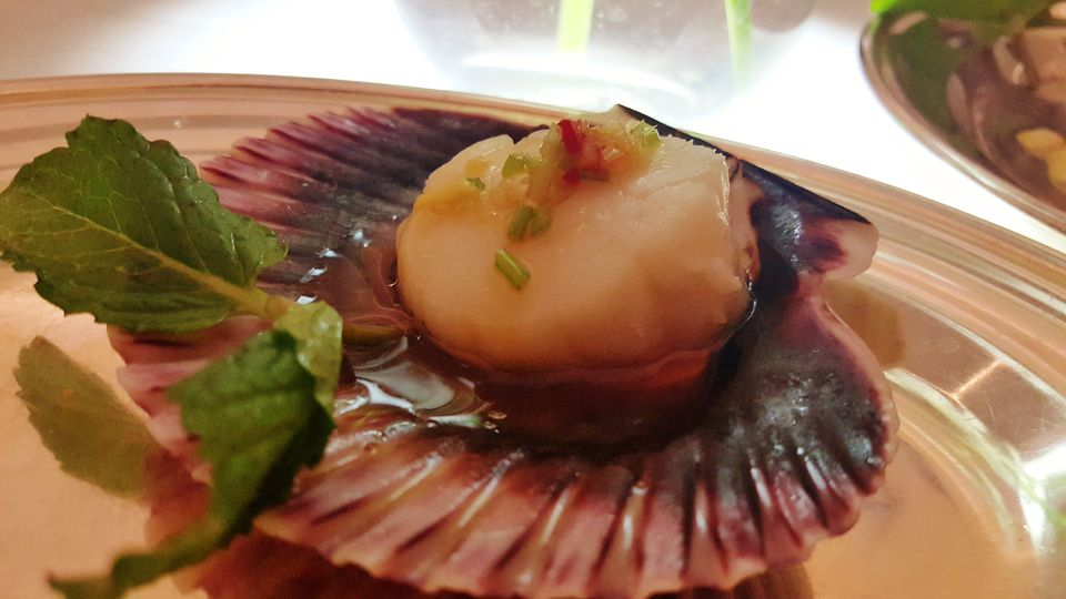 Scallop at Mr Chow Las Vegas