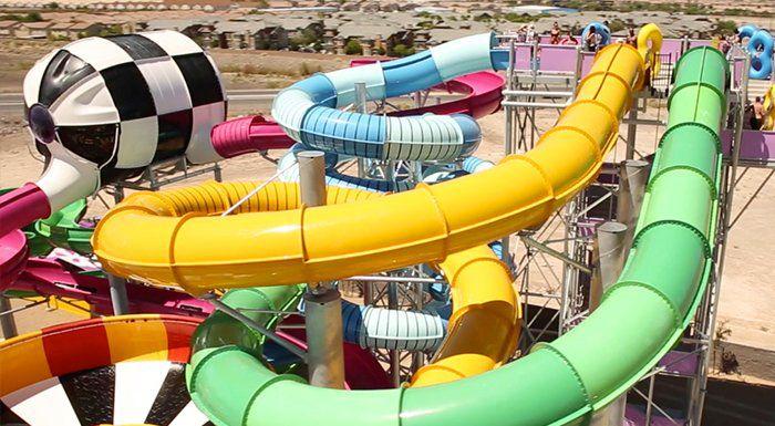 Cowabunga Bay Las Vegas water park.