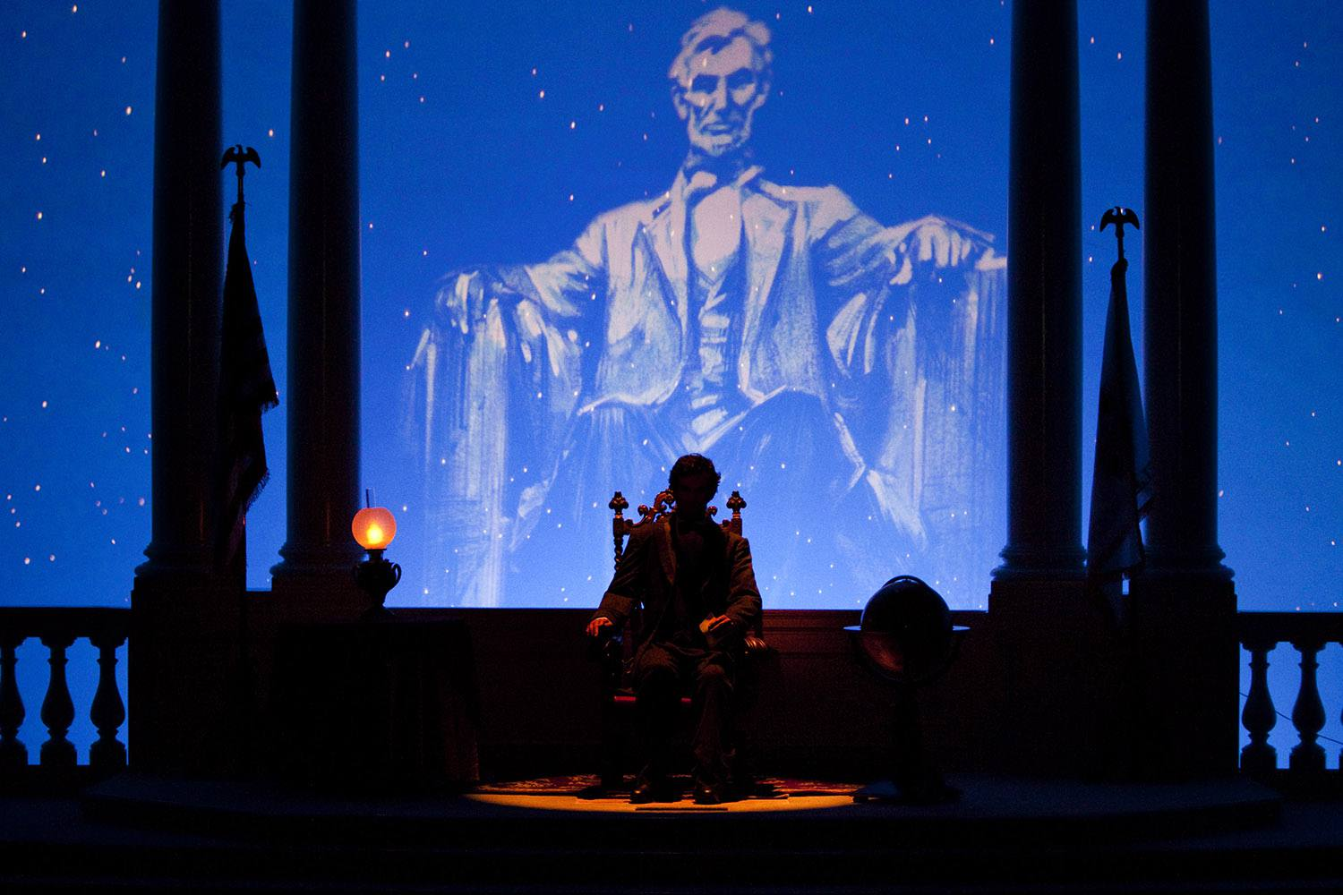 Great Moment with Mr. Lincoln at Disneyland