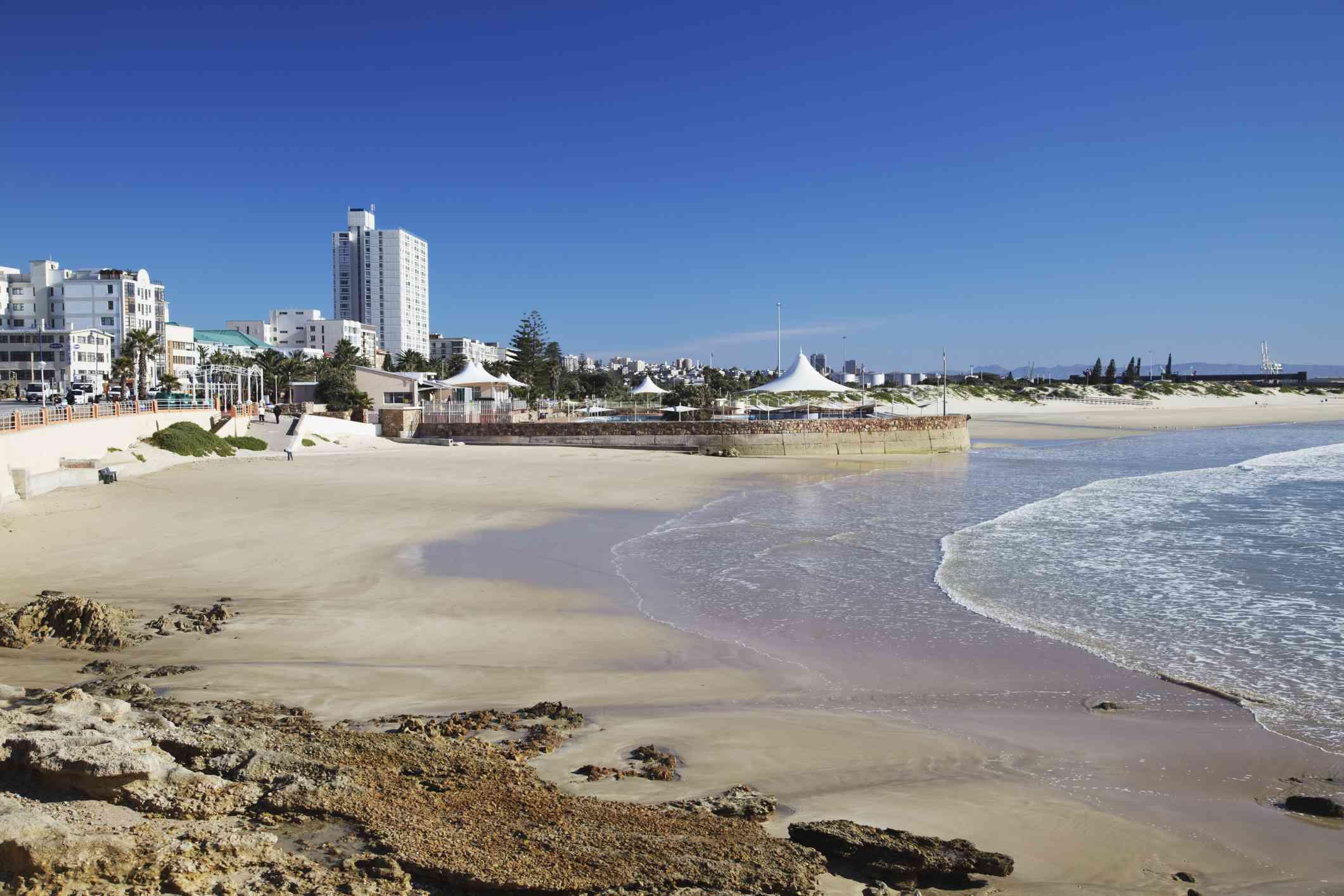 Humewood Beach, Port Elizabeth, South Africa