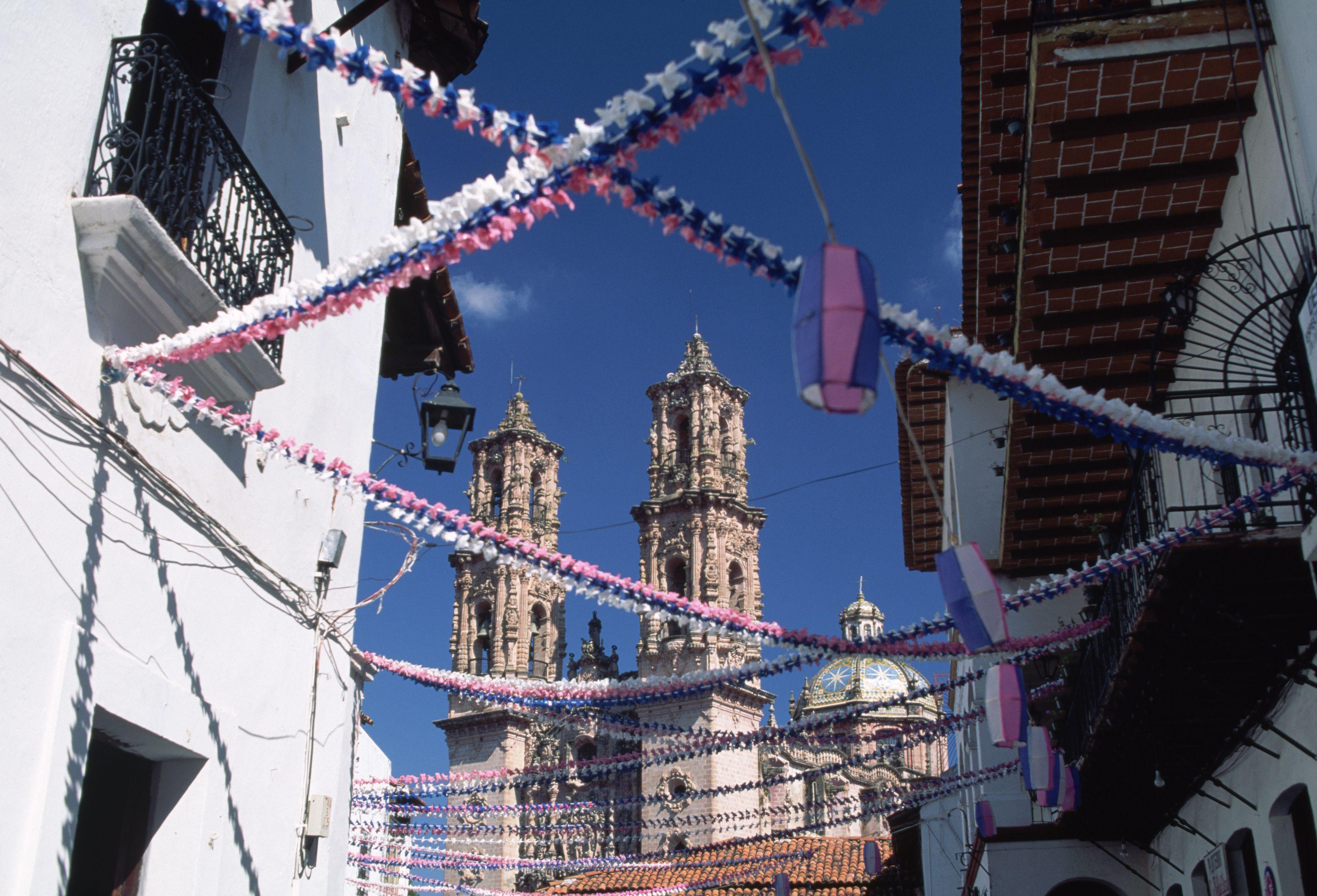 Santa Prisca church in Taxco