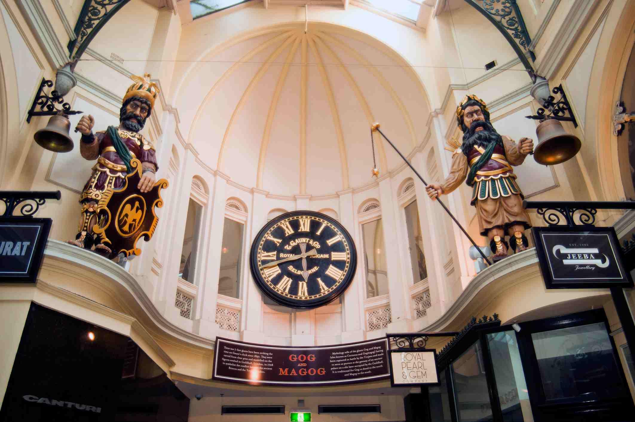 Royale Arcade in Melbourne