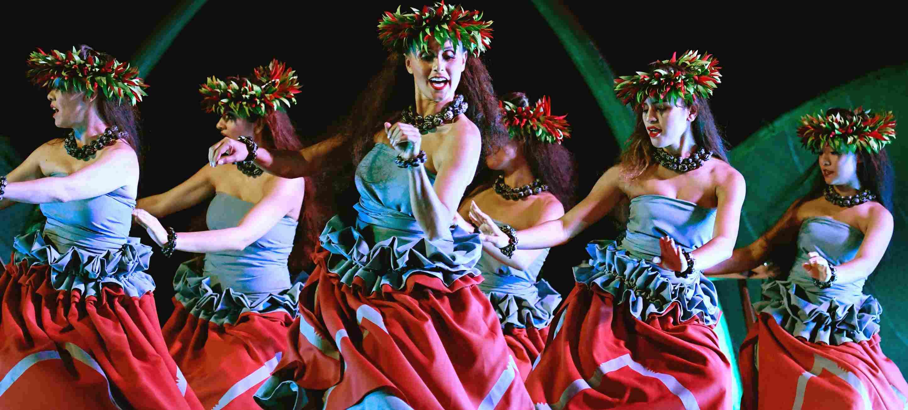 Dancers at the KA WA'A Luau at Disney Aulani Resort