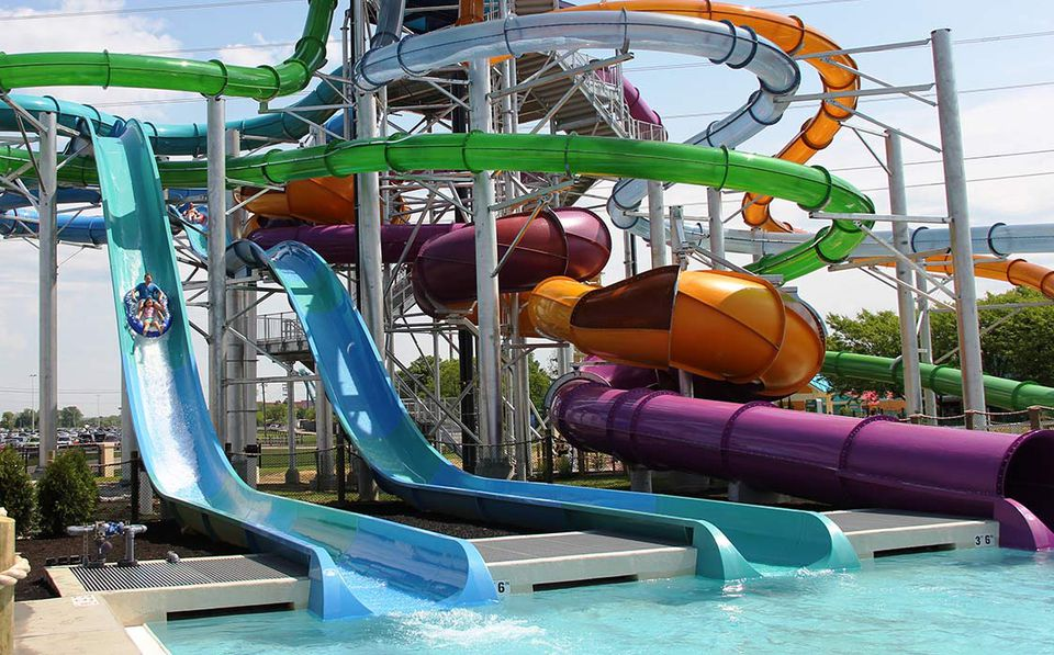 Soak City at Kings Island water park