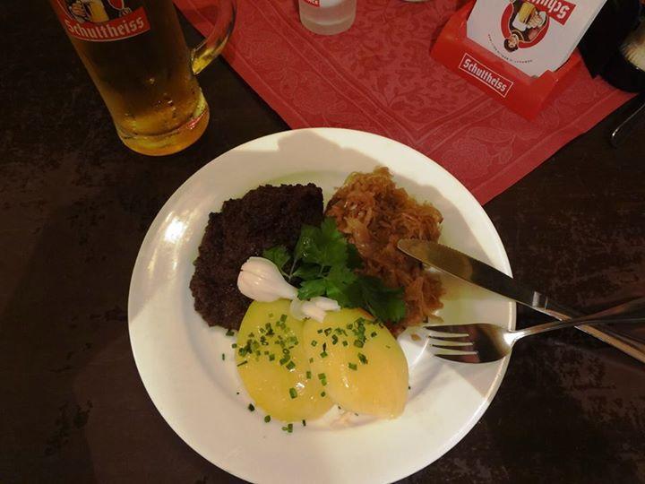 German blood sausage