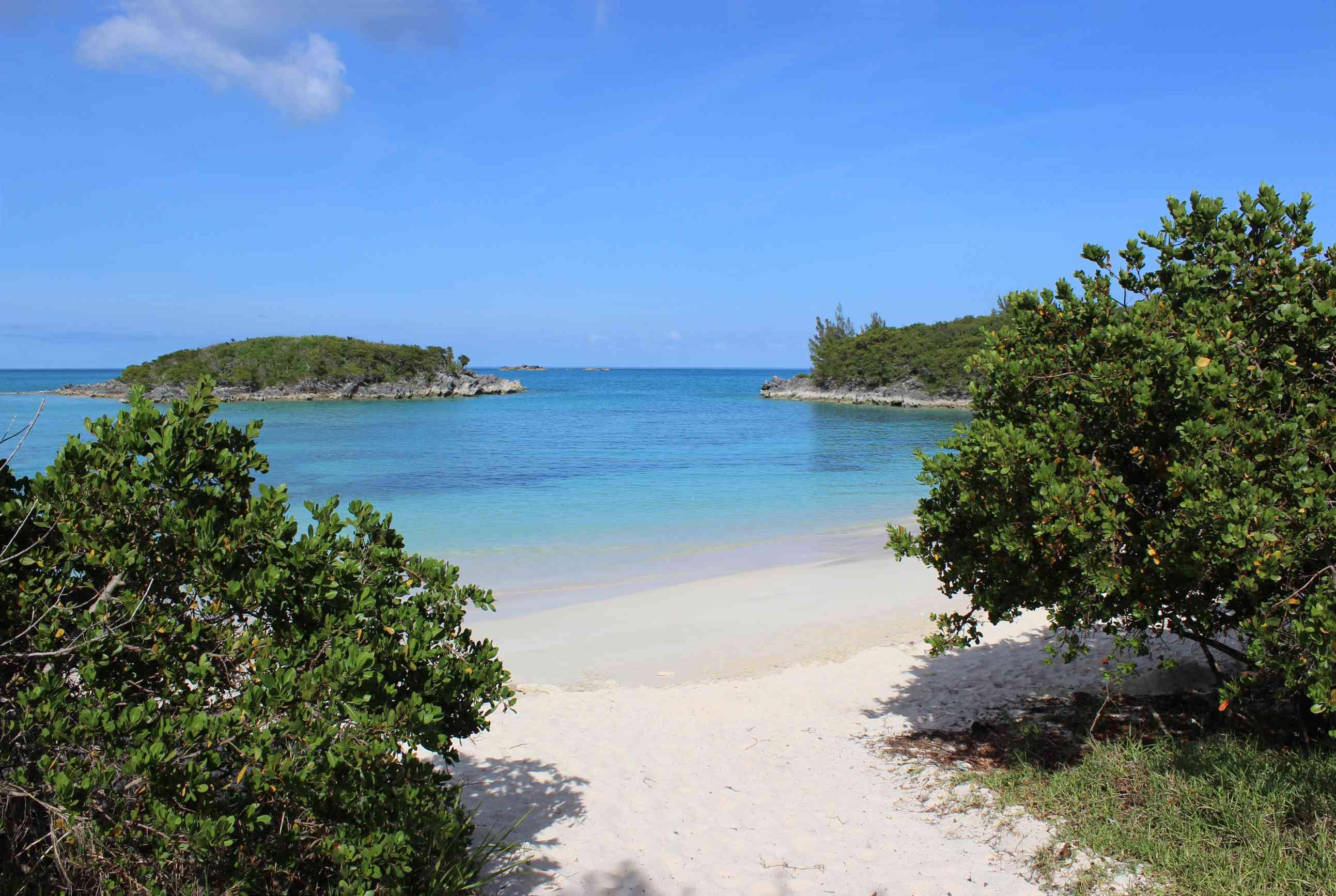 Turtle Bay in Bermuda