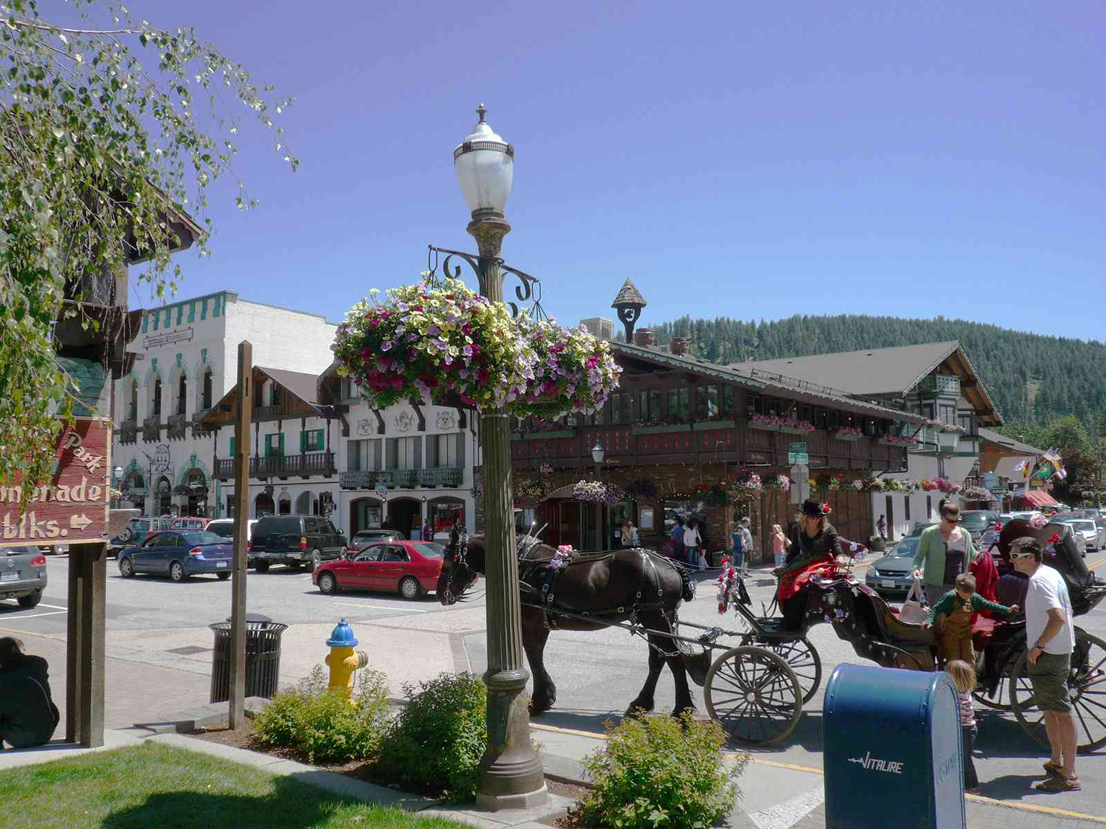 Leavenworth's Front Street