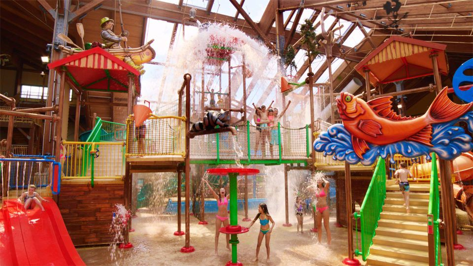 Great Escape Lodge water park