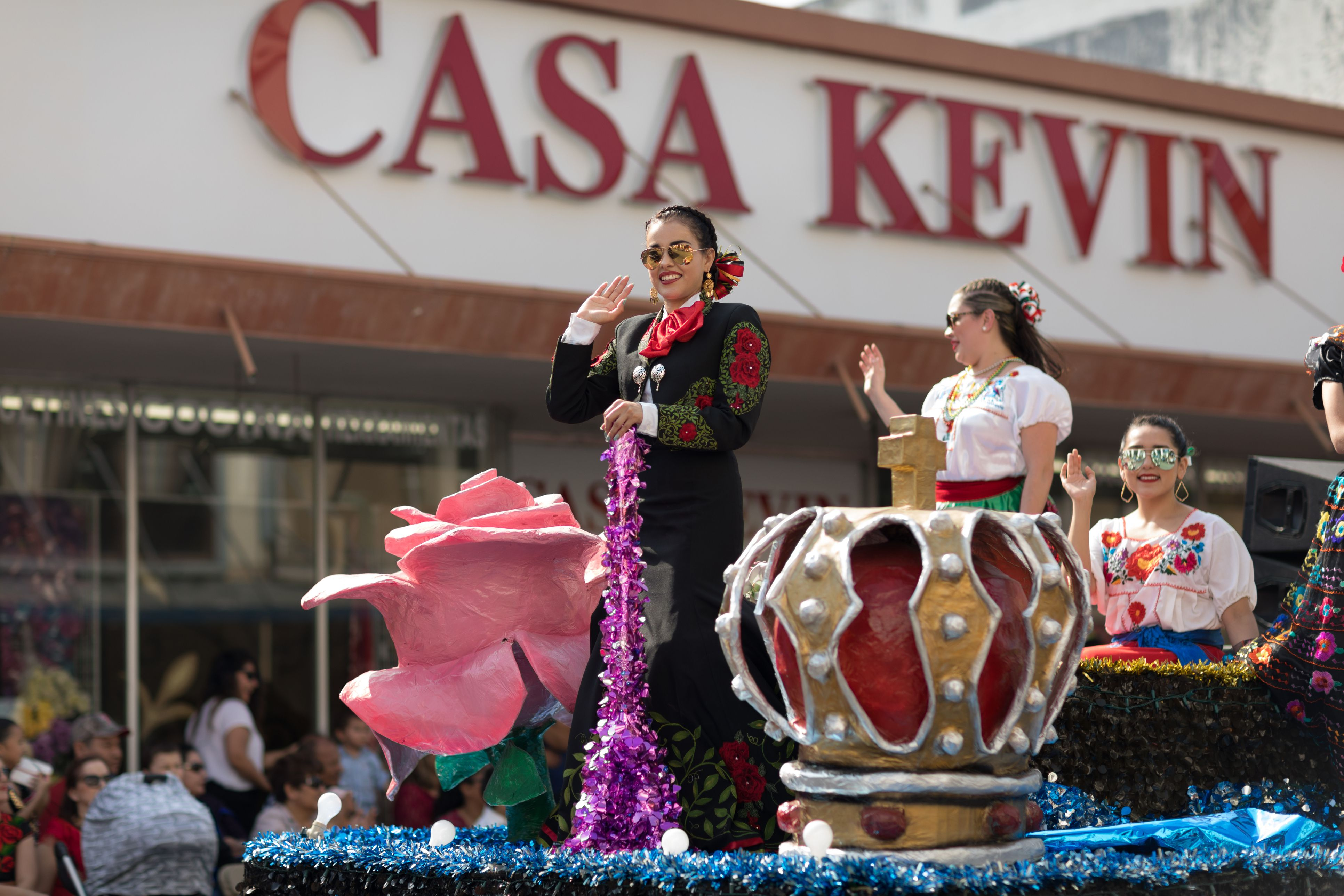 Grand International Parade during Charro Days