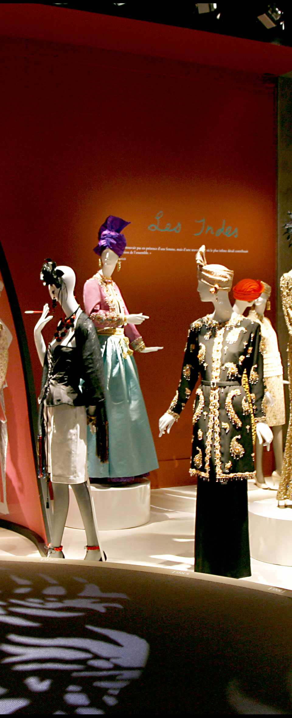 The inaugural exhibition at the Yves Saint Laurent Museum in Paris focused on the French fashion designer's culturally specific creations. Here, Spain is highlighted.