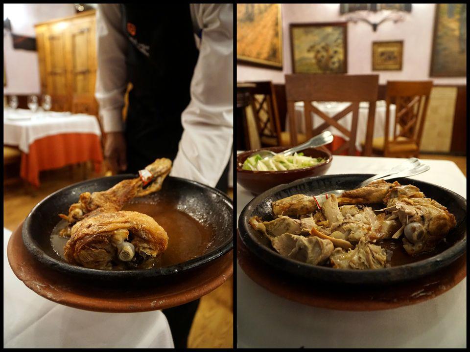 traditional dishes in aranda de duero