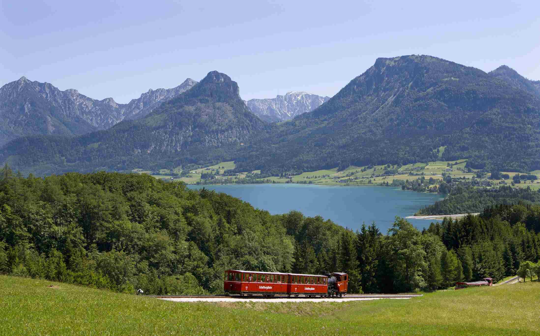 Schafberg Cog Railway, Lake Wolfgang, Salzkammergut, Austria